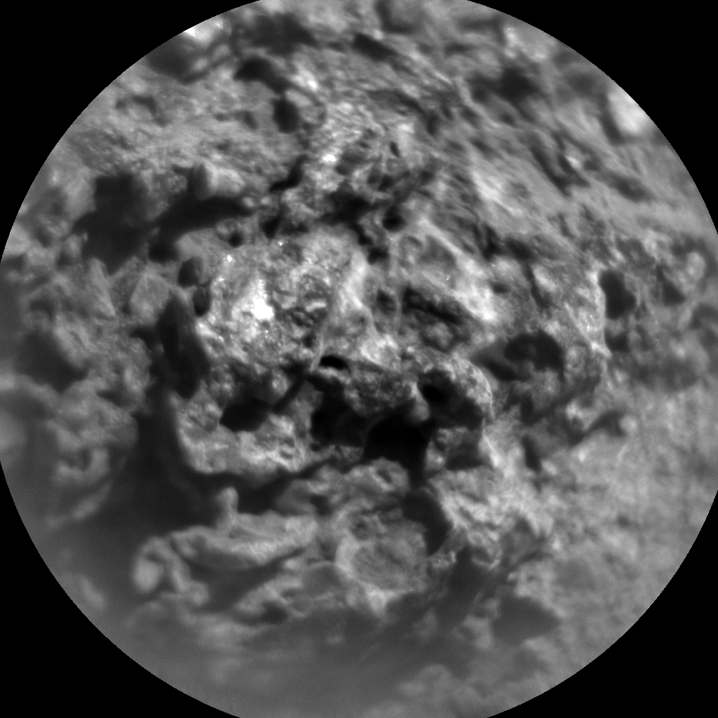 Nasa's Mars rover Curiosity acquired this image using its Chemistry & Camera (ChemCam) on Sol 523, at drive 1296, site number 25