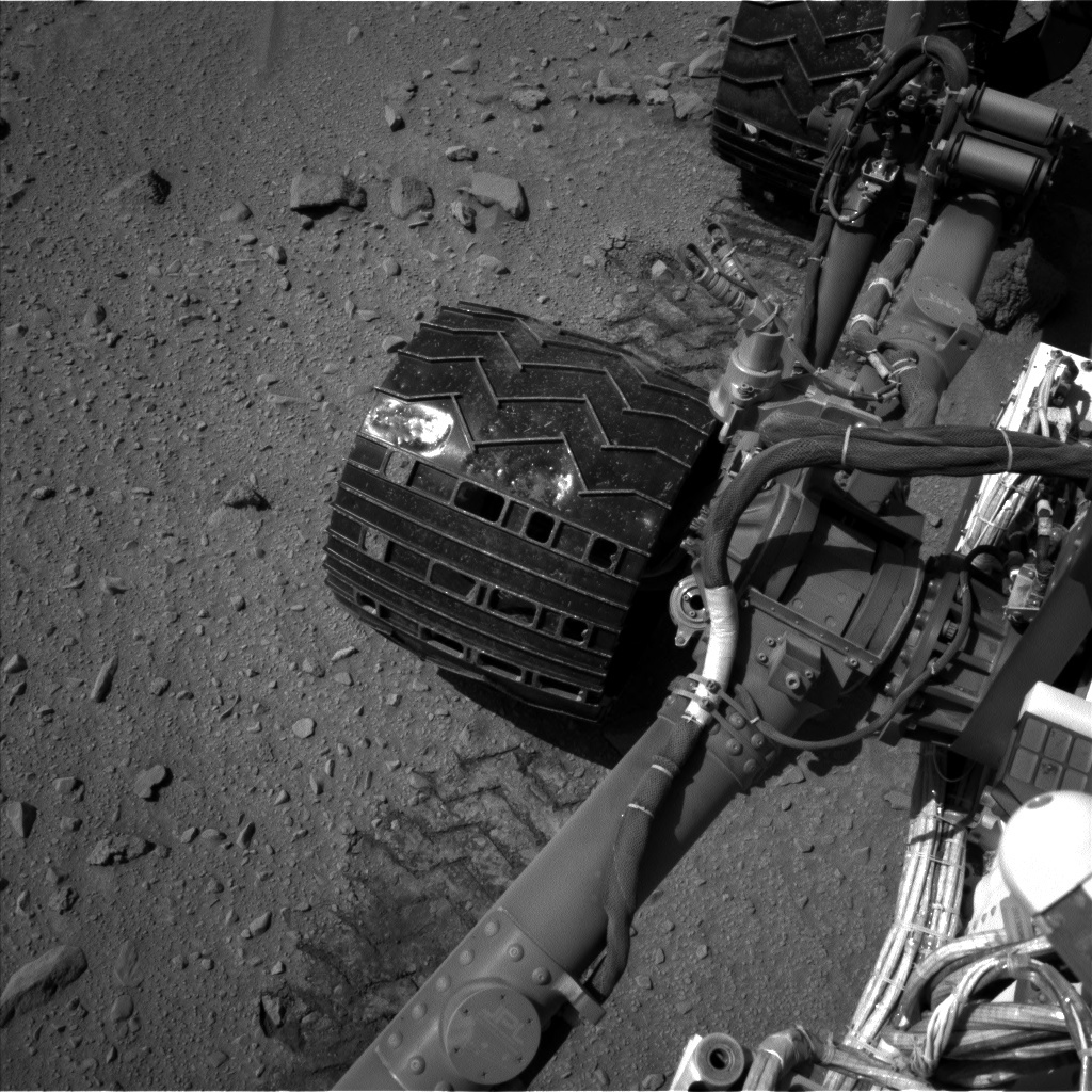 NASA's Mars rover Curiosity acquired this image using its Left Navigation Camera (Navcams) on Sol 524