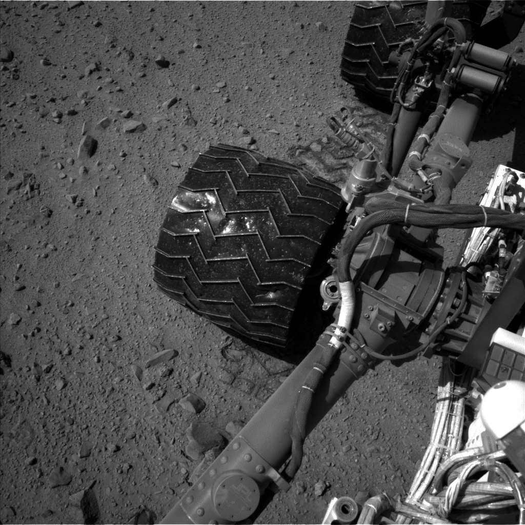 Nasa's Mars rover Curiosity acquired this image using its Left Navigation Camera on Sol 524, at drive 1366, site number 25