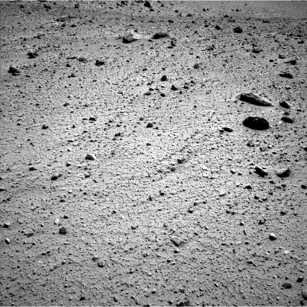 Nasa's Mars rover Curiosity acquired this image using its Left Navigation Camera on Sol 524, at drive 1438, site number 25
