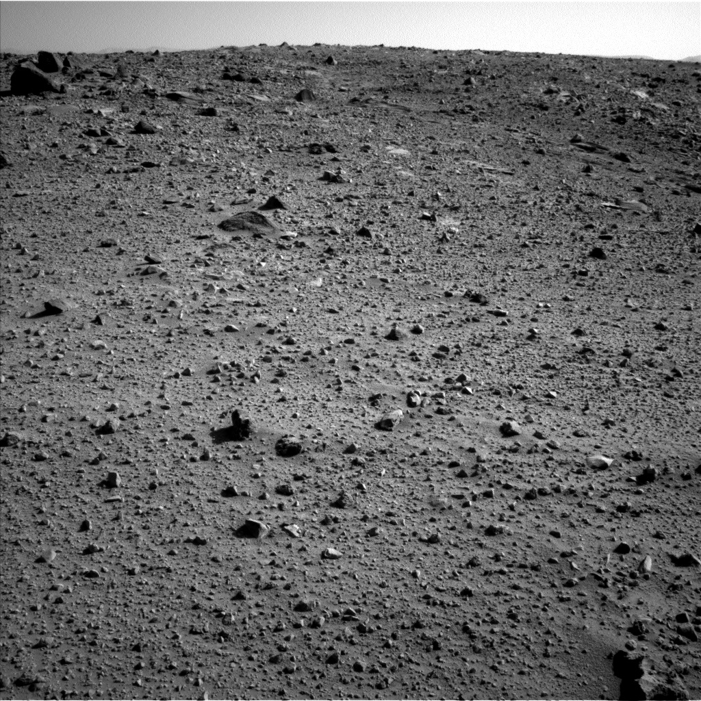 Nasa's Mars rover Curiosity acquired this image using its Left Navigation Camera on Sol 524, at drive 1496, site number 25