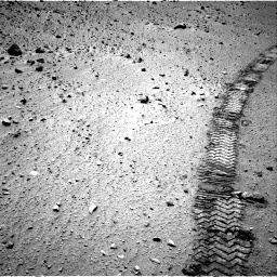 Nasa's Mars rover Curiosity acquired this image using its Right Navigation Camera on Sol 524, at drive 1312, site number 25