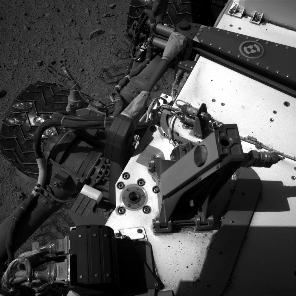 Nasa's Mars rover Curiosity acquired this image using its Right Navigation Camera on Sol 524, at drive 1354, site number 25