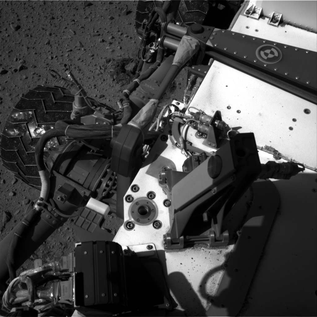 Nasa's Mars rover Curiosity acquired this image using its Right Navigation Camera on Sol 524, at drive 1420, site number 25