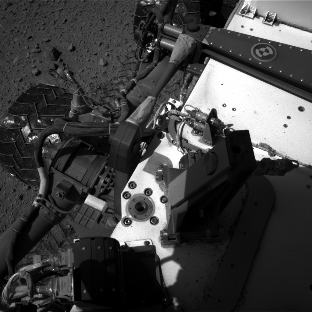 Nasa's Mars rover Curiosity acquired this image using its Right Navigation Camera on Sol 524, at drive 1450, site number 25