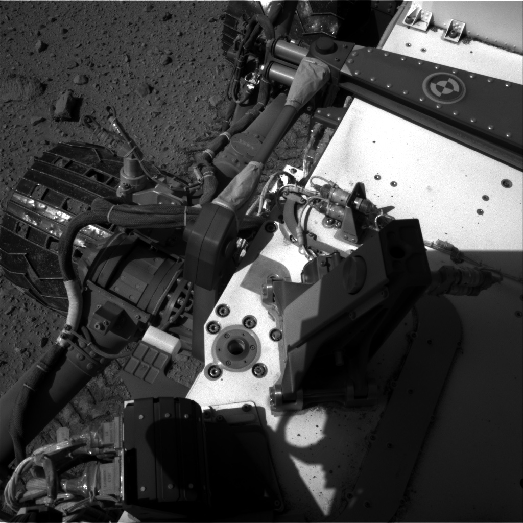 Nasa's Mars rover Curiosity acquired this image using its Right Navigation Camera on Sol 524, at drive 1468, site number 25