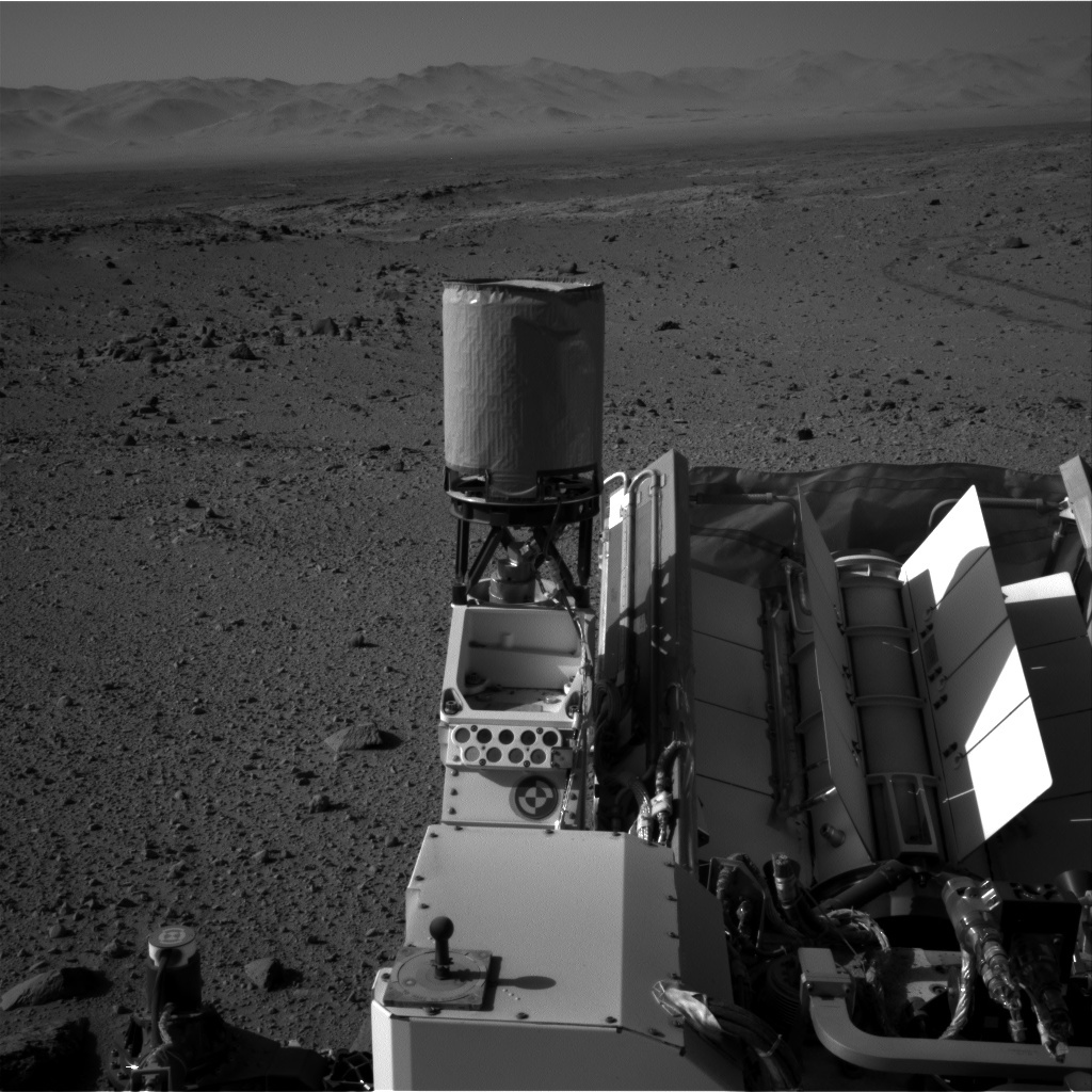 NASA's Mars rover Curiosity acquired this image using its Right Navigation Cameras (Navcams) on Sol 524