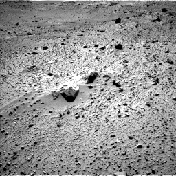 Nasa's Mars rover Curiosity acquired this image using its Left Navigation Camera on Sol 526, at drive 1502, site number 25