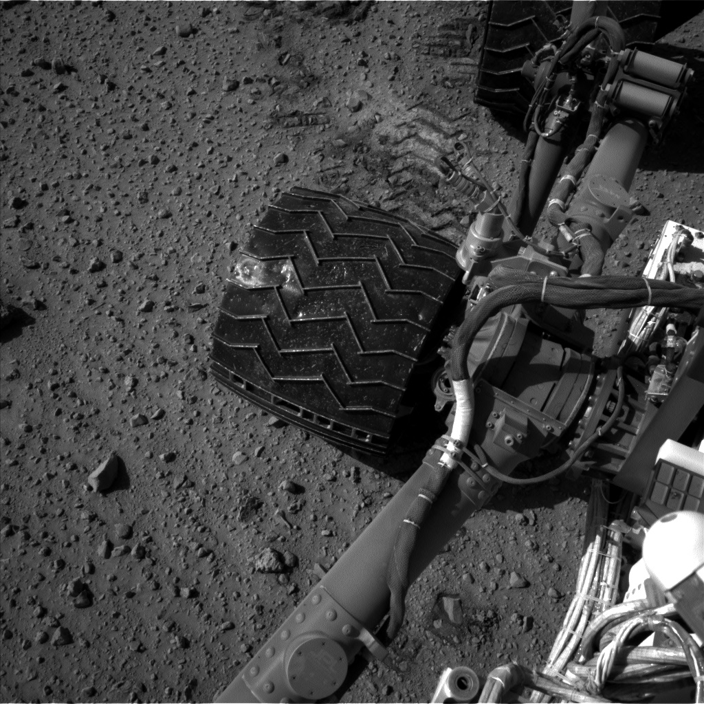Nasa's Mars rover Curiosity acquired this image using its Left Navigation Camera on Sol 526, at drive 1508, site number 25