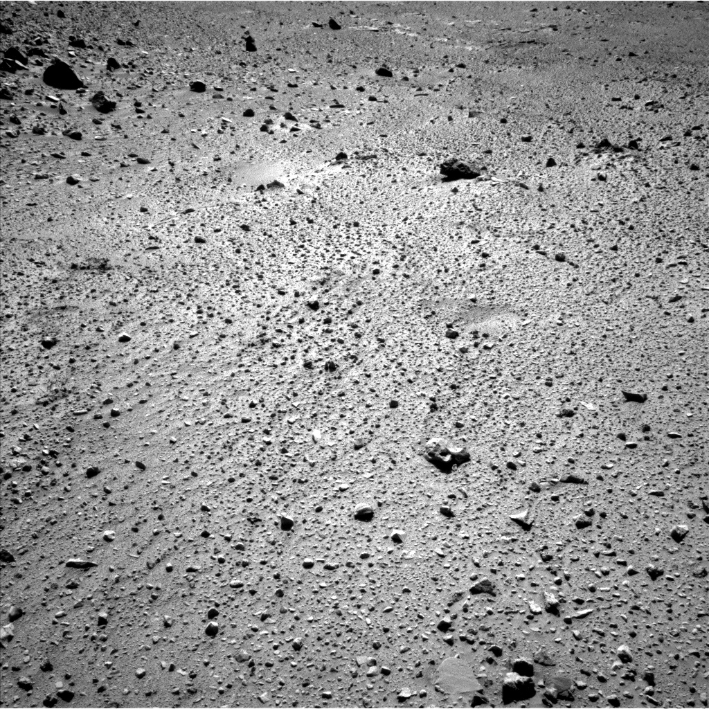 Nasa's Mars rover Curiosity acquired this image using its Left Navigation Camera on Sol 526, at drive 1562, site number 25
