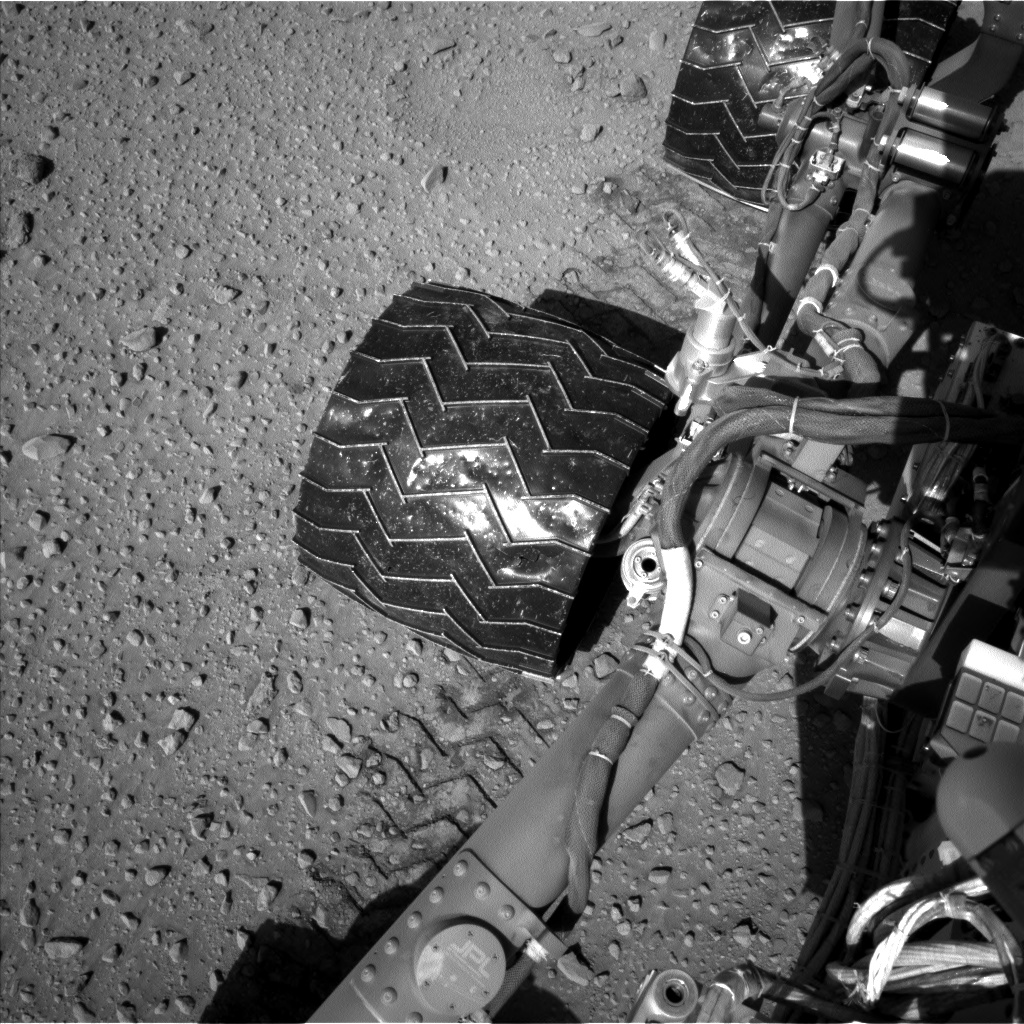 Nasa's Mars rover Curiosity acquired this image using its Left Navigation Camera on Sol 526, at drive 1598, site number 25