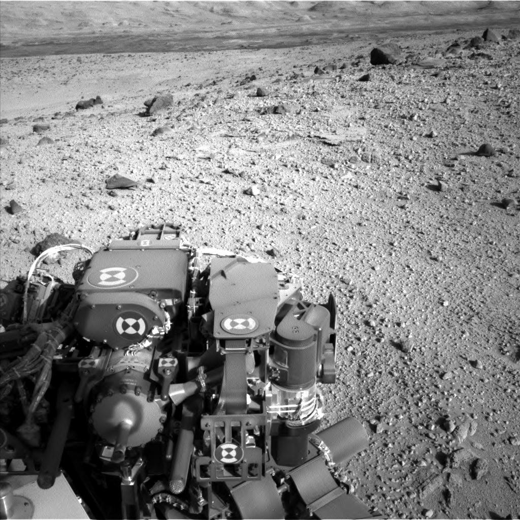 Nasa's Mars rover Curiosity acquired this image using its Left Navigation Camera on Sol 526, at drive 1638, site number 25