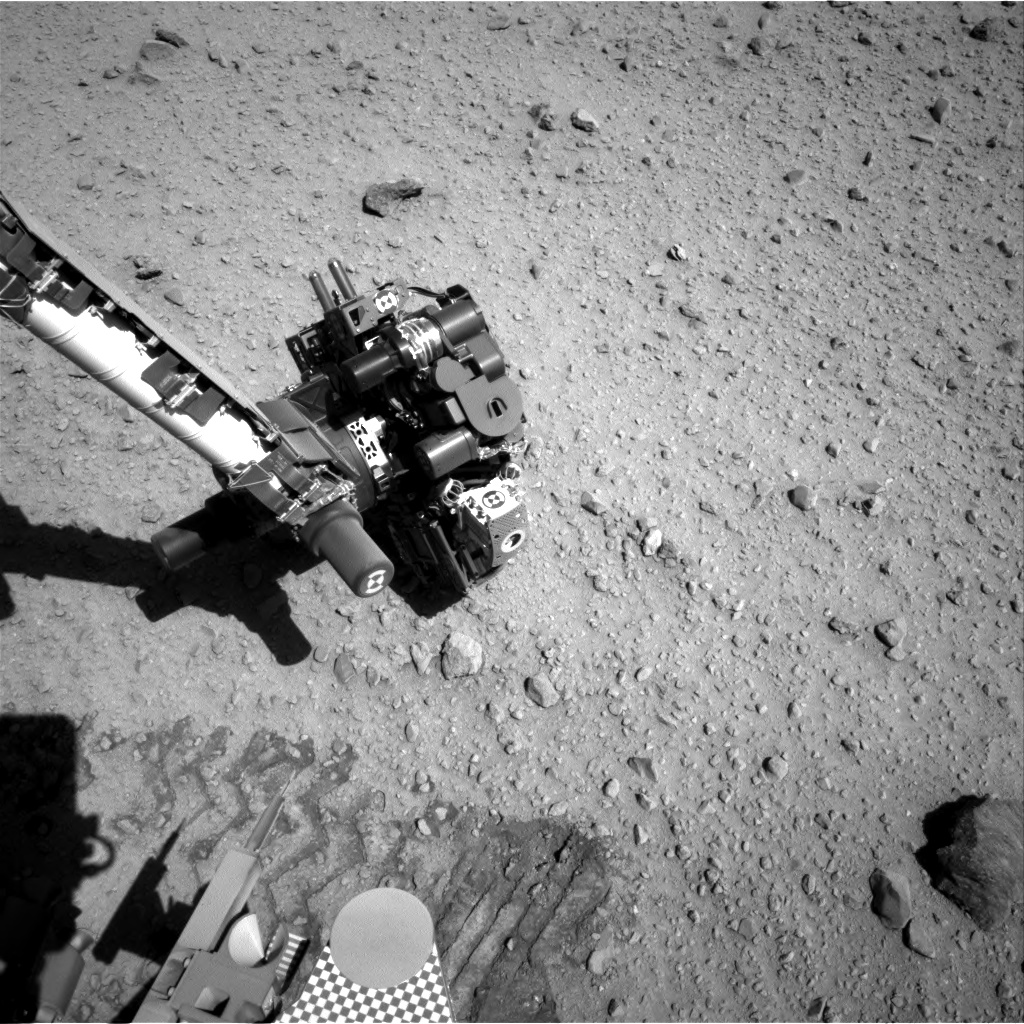 Nasa's Mars rover Curiosity acquired this image using its Right Navigation Camera on Sol 526, at drive 1496, site number 25