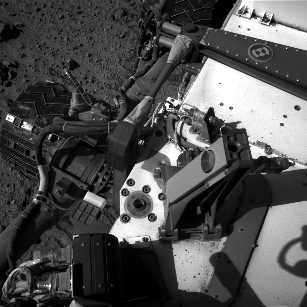 Nasa's Mars rover Curiosity acquired this image using its Right Navigation Camera on Sol 526, at drive 1520, site number 25
