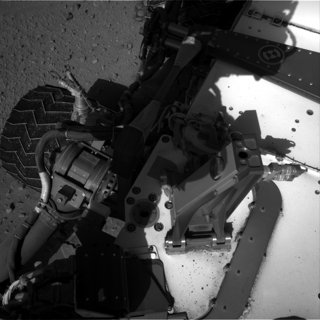 Nasa's Mars rover Curiosity acquired this image using its Right Navigation Camera on Sol 526, at drive 1556, site number 25