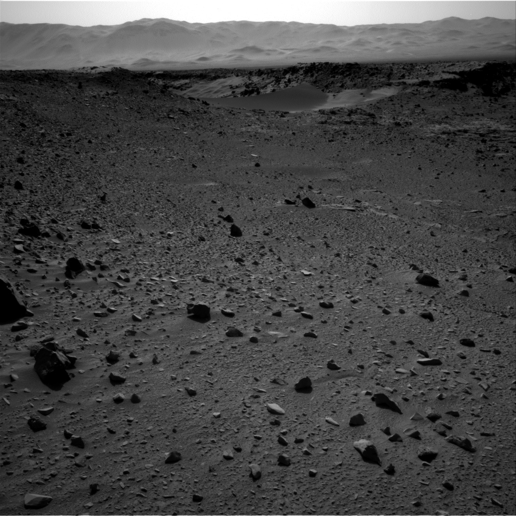 Nasa's Mars rover Curiosity acquired this image using its Right Navigation Camera on Sol 526, at drive 1638, site number 25