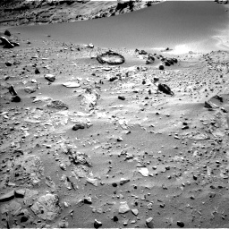 Nasa's Mars rover Curiosity acquired this image using its Left Navigation Camera on Sol 527, at drive 1906, site number 25