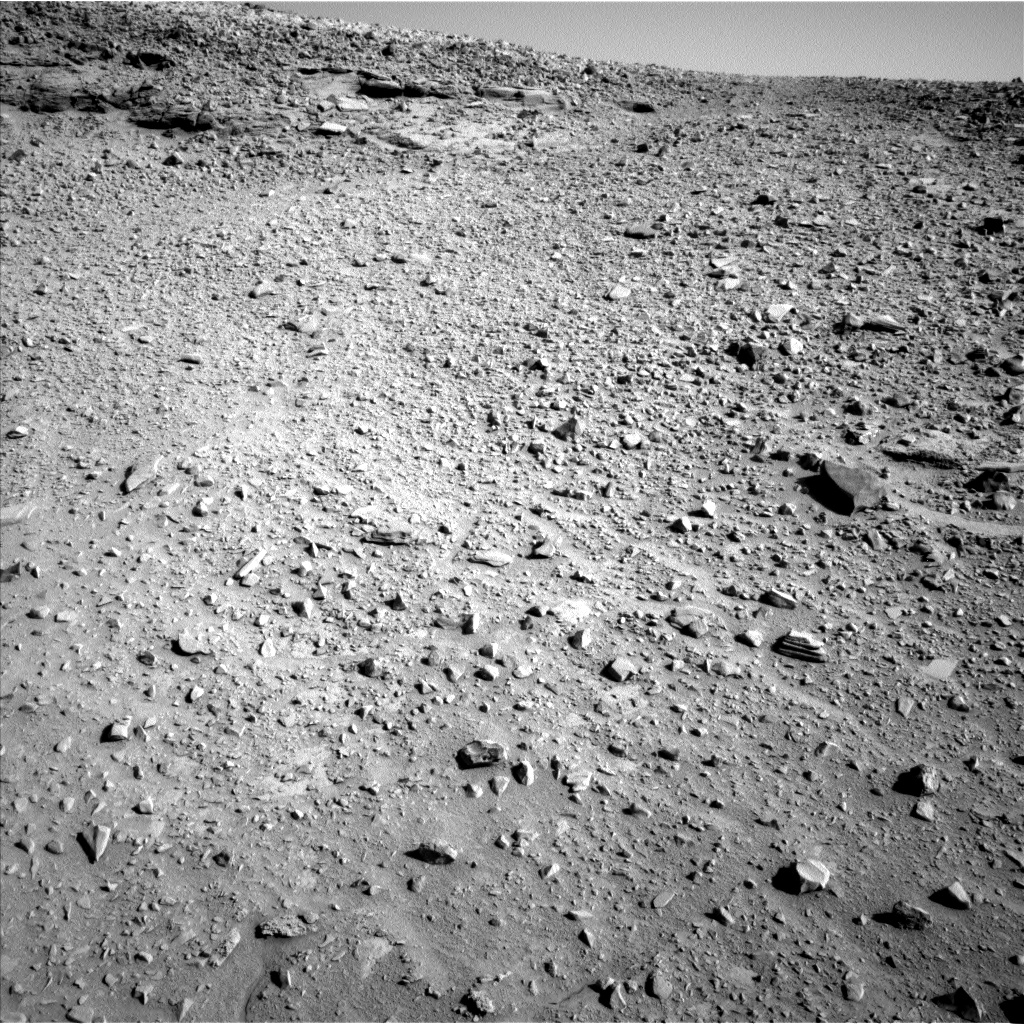Nasa's Mars rover Curiosity acquired this image using its Left Navigation Camera on Sol 527, at drive 0, site number 26