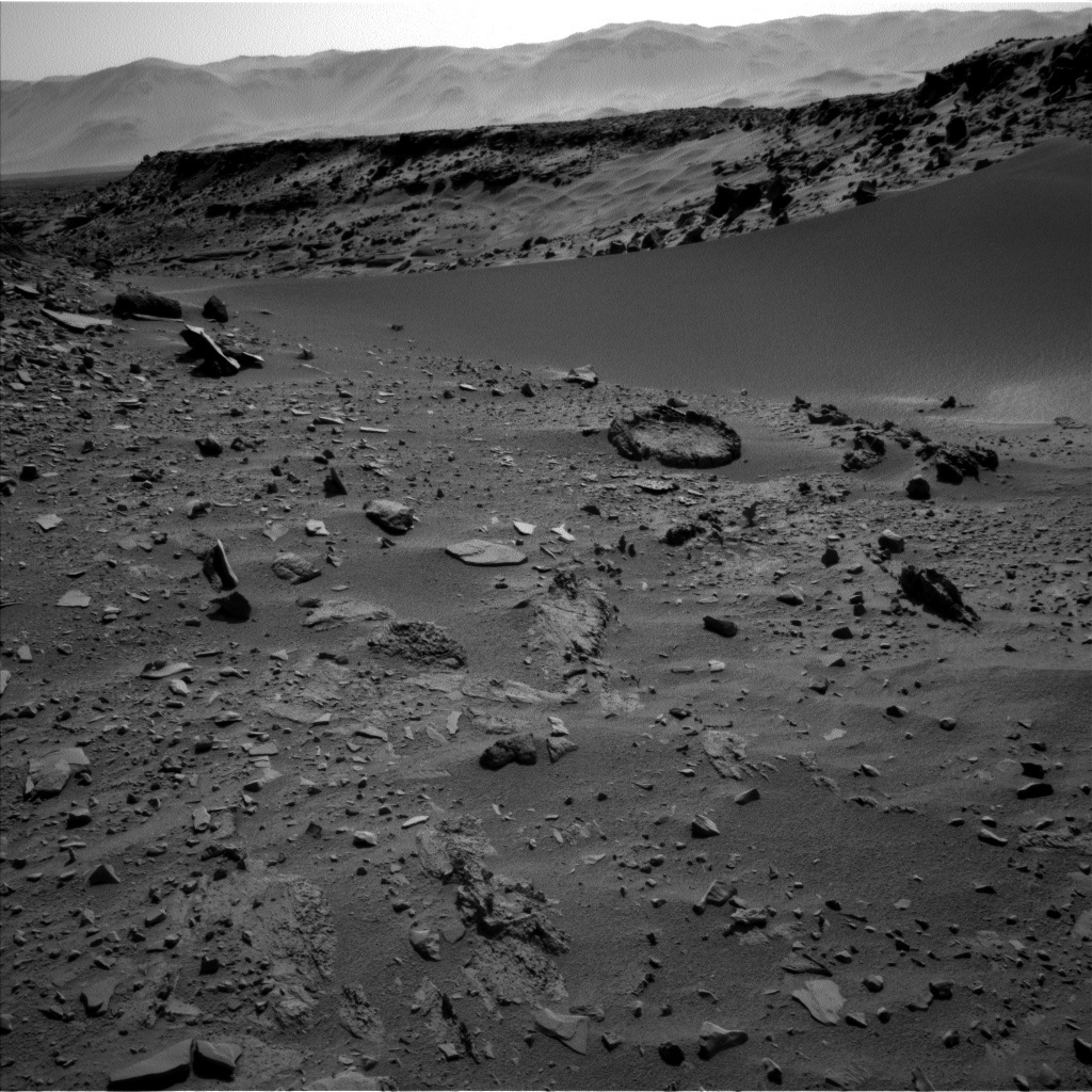 NASA's Mars rover Curiosity acquired this image using its Left Navigation Camera (Navcams) on Sol 527