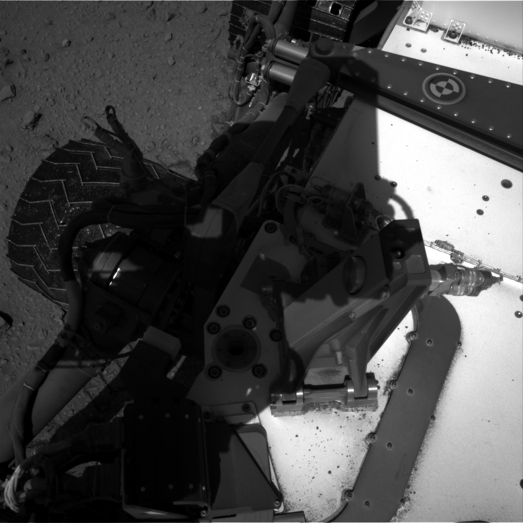 Nasa's Mars rover Curiosity acquired this image using its Right Navigation Camera on Sol 527, at drive 1716, site number 25