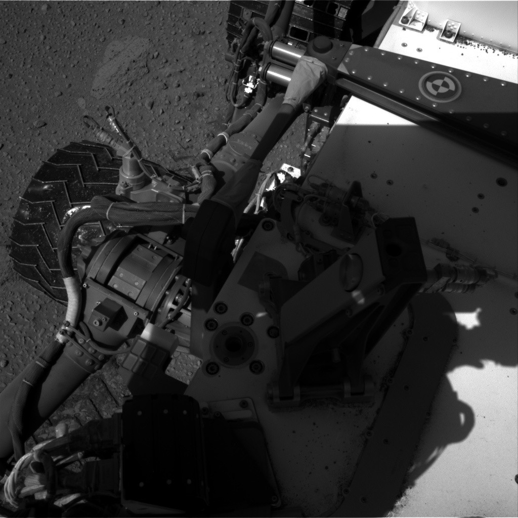 Nasa's Mars rover Curiosity acquired this image using its Right Navigation Camera on Sol 527, at drive 1776, site number 25