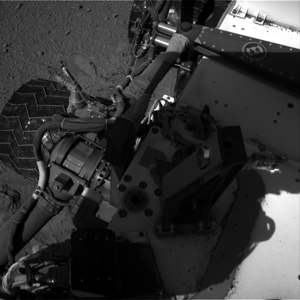 Nasa's Mars rover Curiosity acquired this image using its Right Navigation Camera on Sol 527, at drive 1788, site number 25