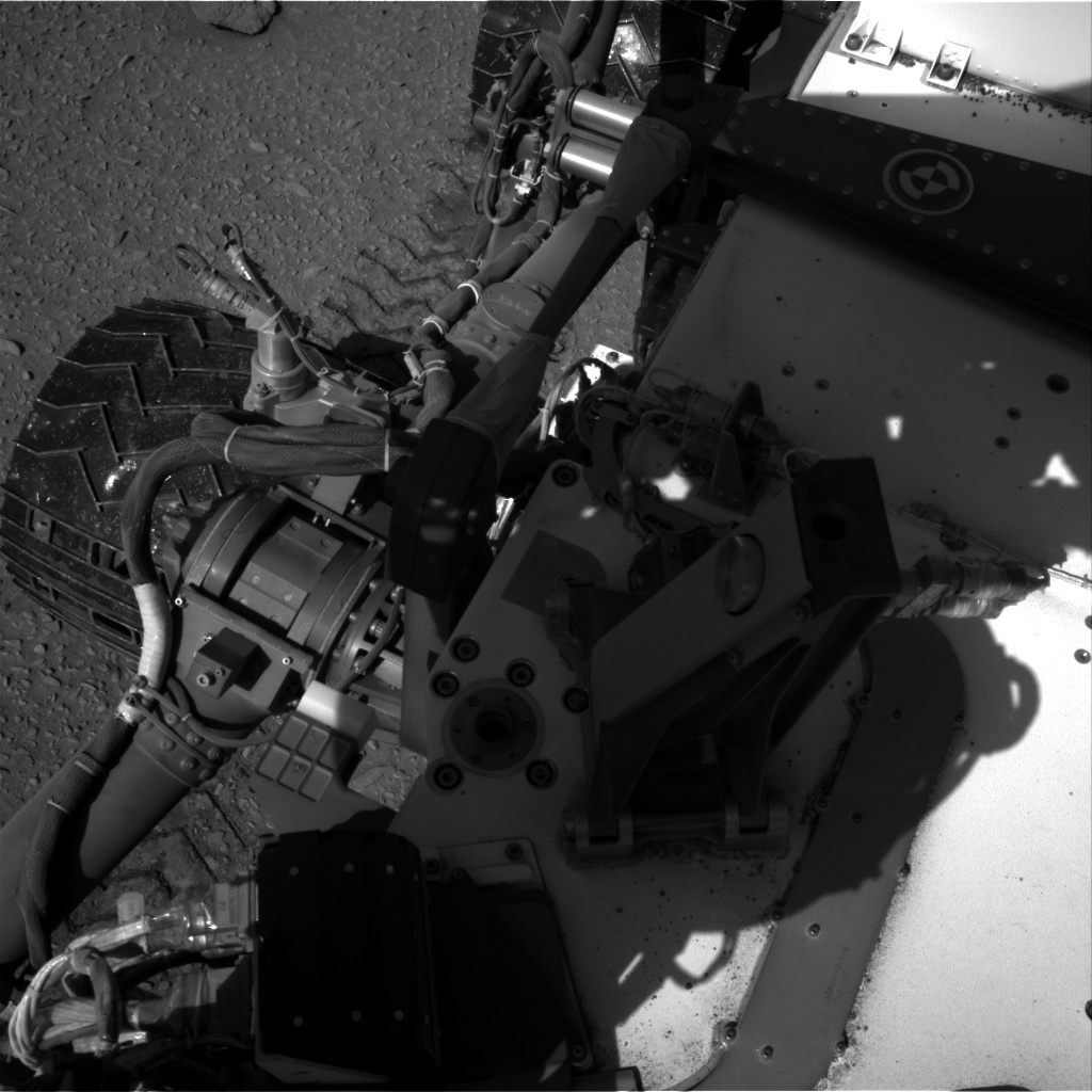Nasa's Mars rover Curiosity acquired this image using its Right Navigation Camera on Sol 527, at drive 1812, site number 25