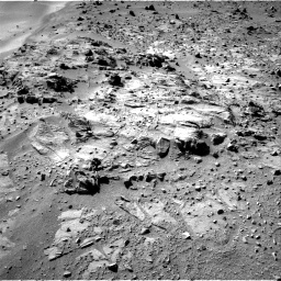 Nasa's Mars rover Curiosity acquired this image using its Right Navigation Camera on Sol 527, at drive 1884, site number 25