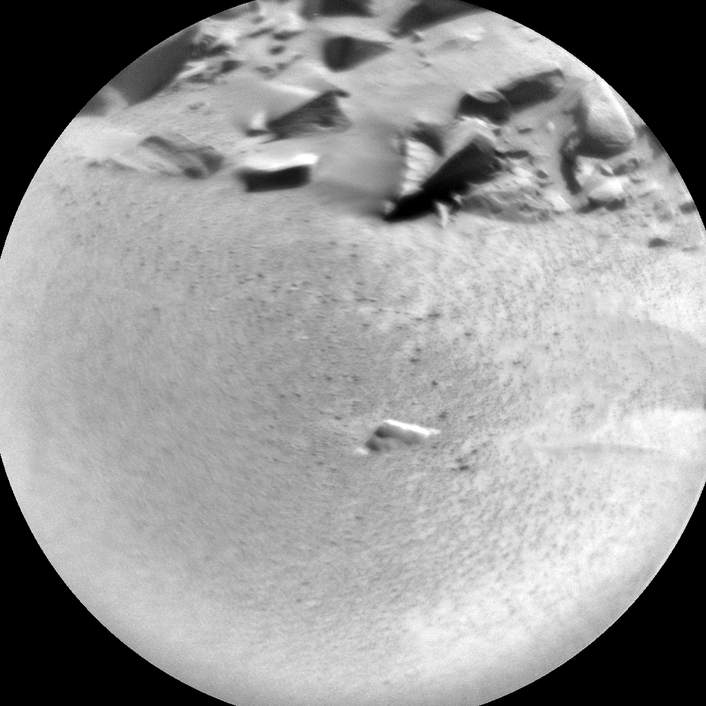 Nasa's Mars rover Curiosity acquired this image using its Chemistry & Camera (ChemCam) on Sol 527, at drive 1638, site number 25