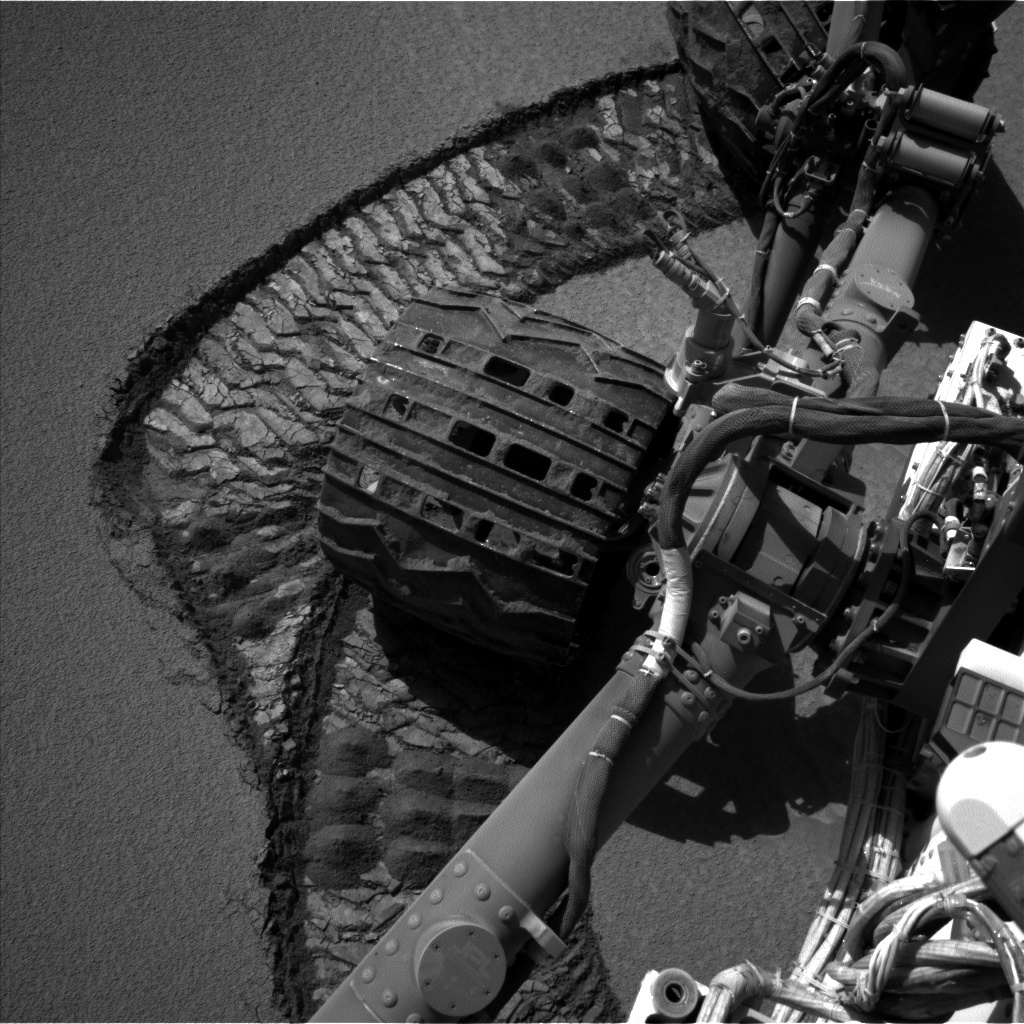 NASA's Mars rover Curiosity acquired this image using its Left Navigation Camera (Navcams) on Sol 528