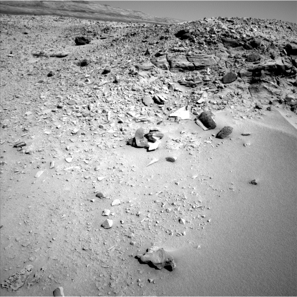 Nasa's Mars rover Curiosity acquired this image using its Left Navigation Camera on Sol 528, at drive 168, site number 26