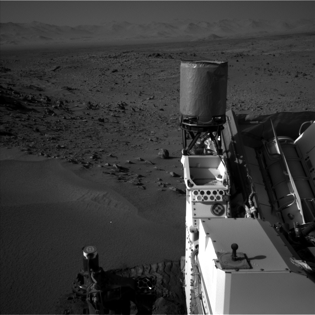Nasa's Mars rover Curiosity acquired this image using its Left Navigation Camera on Sol 528, at drive 184, site number 26