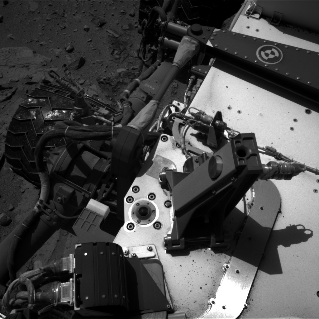 Nasa's Mars rover Curiosity acquired this image using its Right Navigation Camera on Sol 528, at drive 12, site number 26