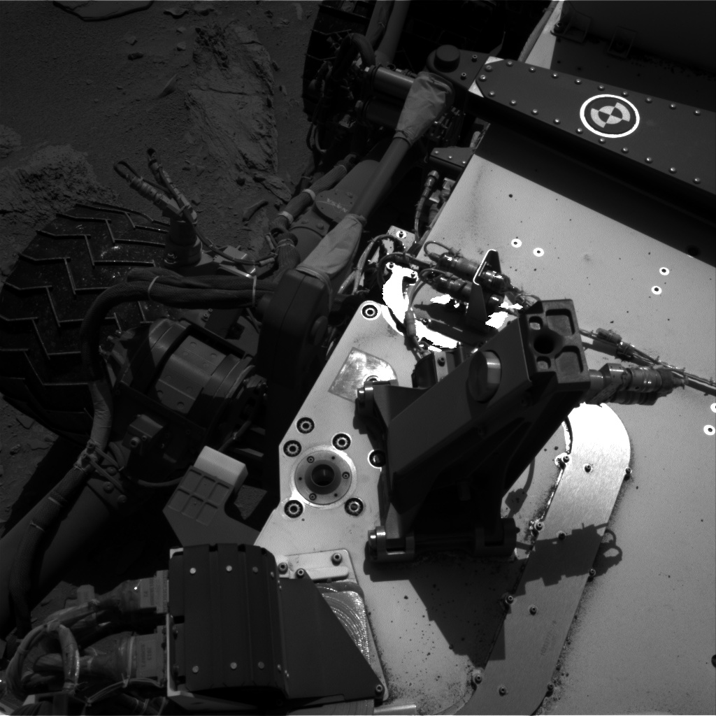 Nasa's Mars rover Curiosity acquired this image using its Right Navigation Camera on Sol 528, at drive 48, site number 26