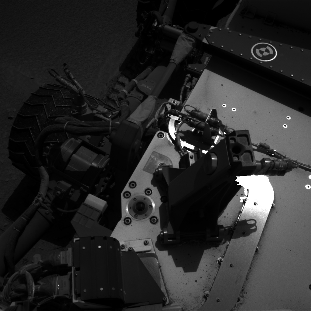 Nasa's Mars rover Curiosity acquired this image using its Right Navigation Camera on Sol 528, at drive 132, site number 26