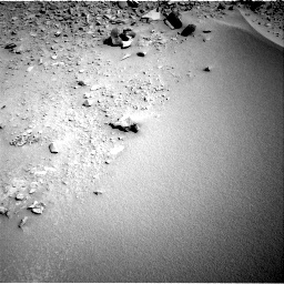 Nasa's Mars rover Curiosity acquired this image using its Right Navigation Camera on Sol 528, at drive 150, site number 26