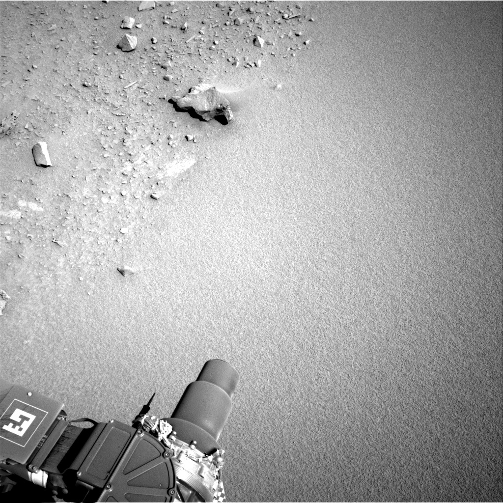 Nasa's Mars rover Curiosity acquired this image using its Right Navigation Camera on Sol 528, at drive 168, site number 26