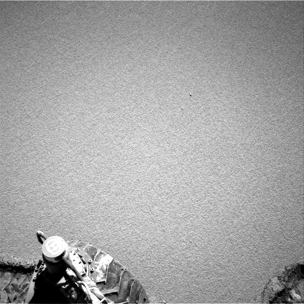Nasa's Mars rover Curiosity acquired this image using its Right Navigation Camera on Sol 528, at drive 184, site number 26
