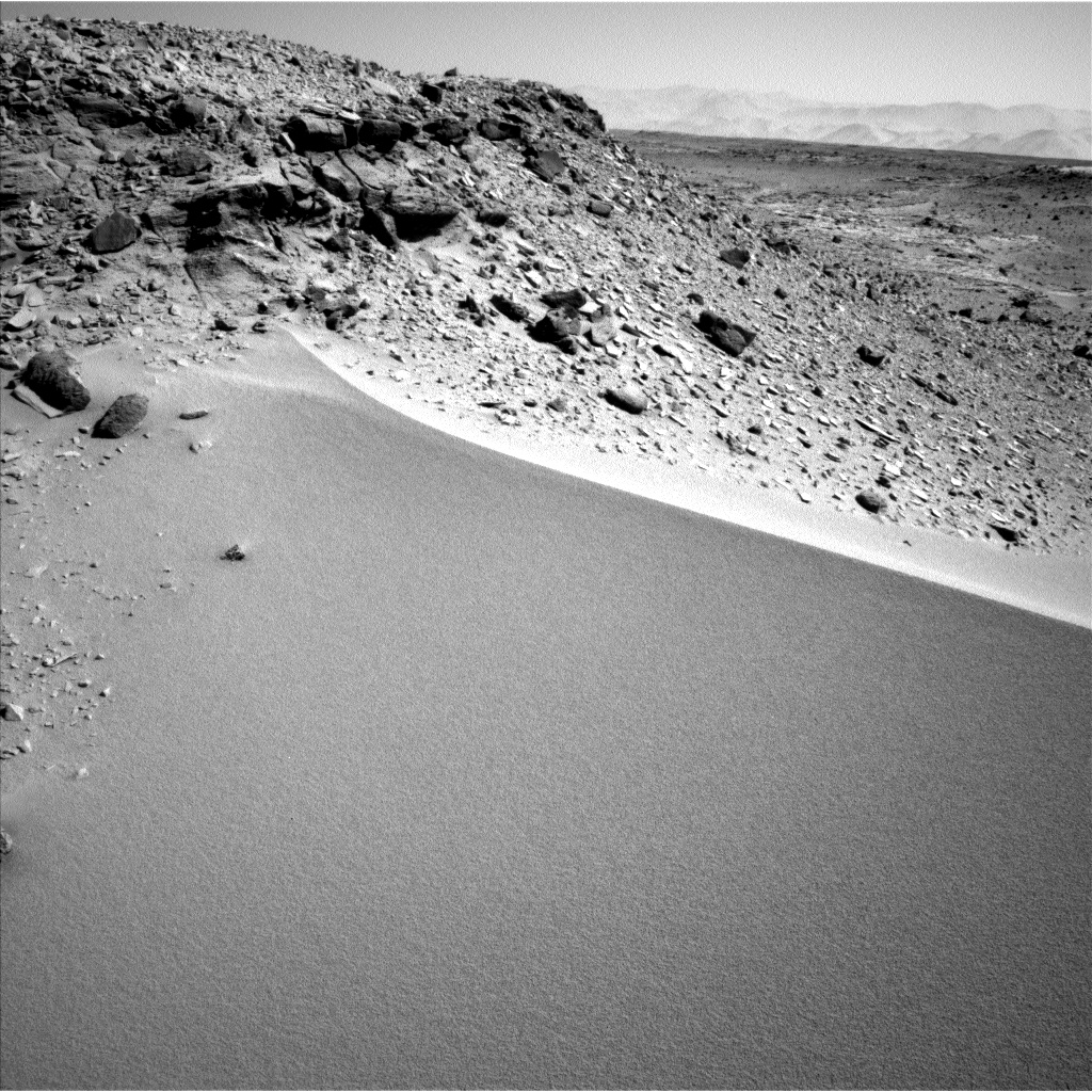 Nasa's Mars rover Curiosity acquired this image using its Left Navigation Camera on Sol 529, at drive 184, site number 26