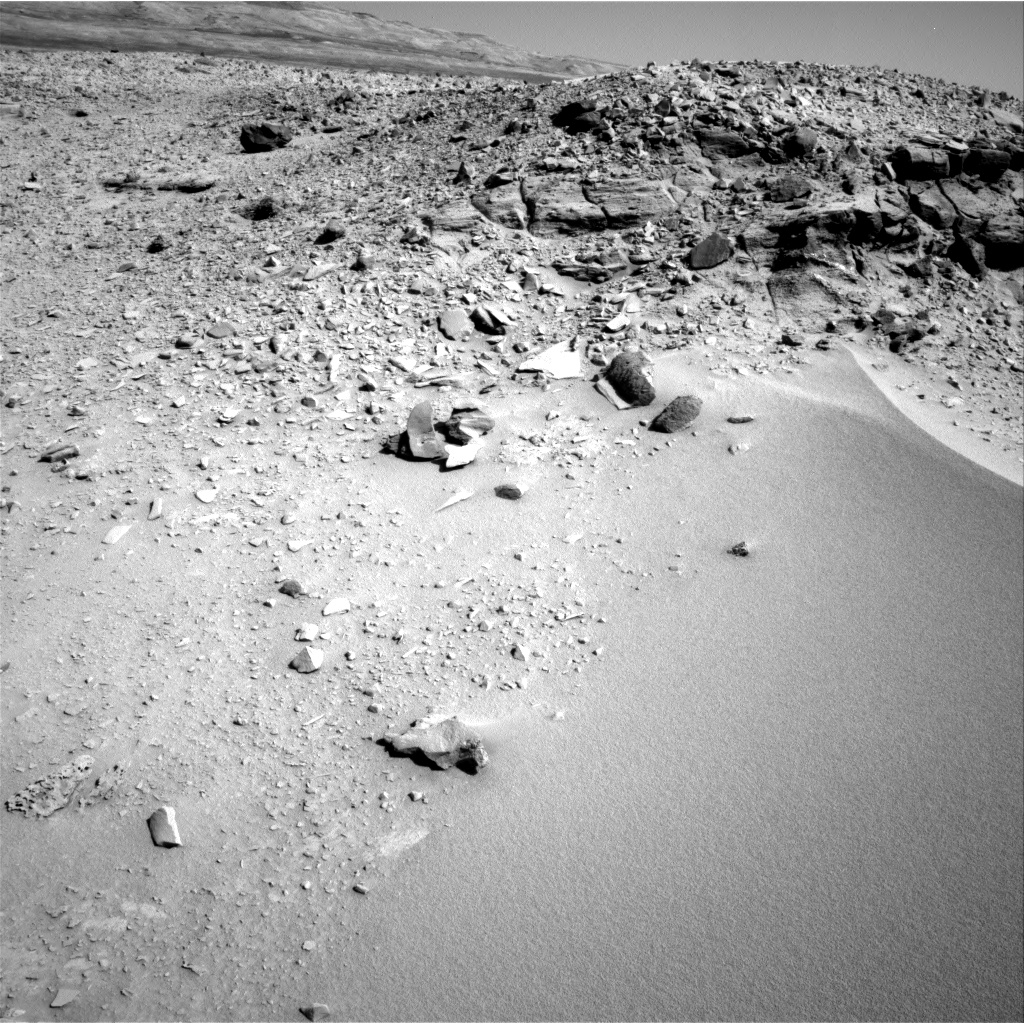 Nasa's Mars rover Curiosity acquired this image using its Right Navigation Camera on Sol 529, at drive 184, site number 26