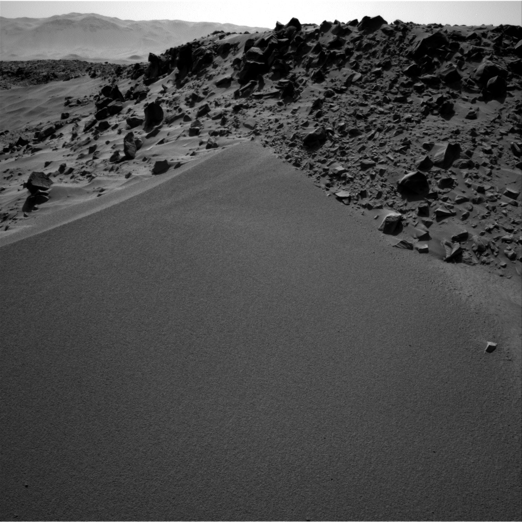 NASA's Mars rover Curiosity acquired this image using its Right Navigation Cameras (Navcams) on Sol 529