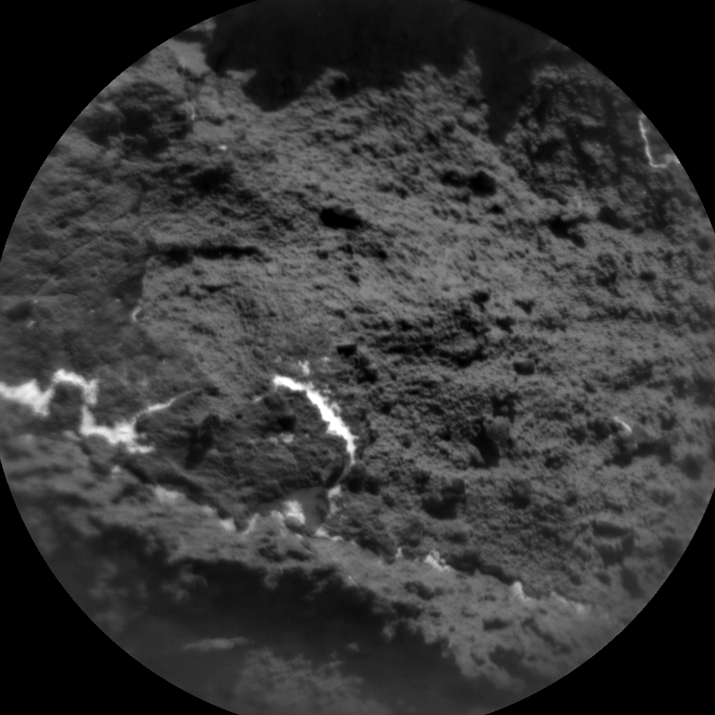 Nasa's Mars rover Curiosity acquired this image using its Chemistry & Camera (ChemCam) on Sol 530, at drive 184, site number 26
