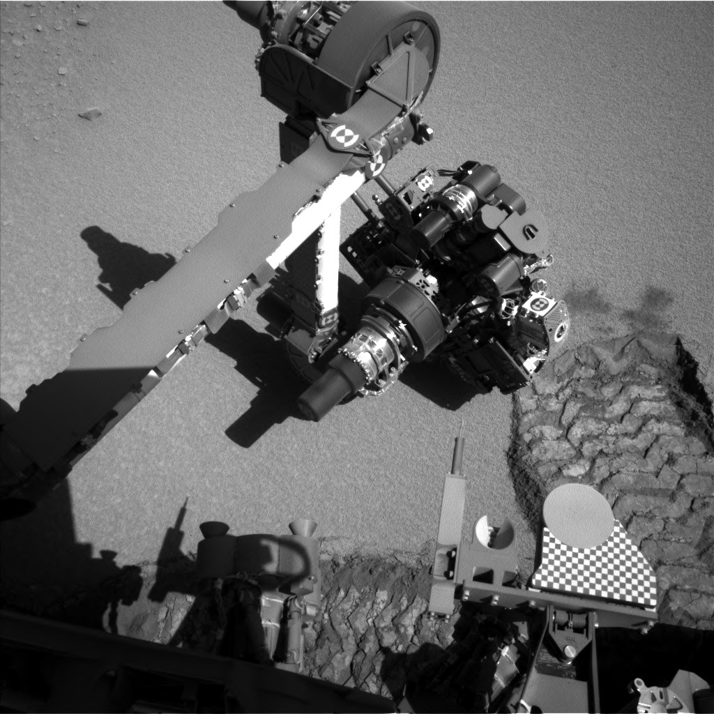 NASA's Mars rover Curiosity acquired this image using its Left Navigation Camera (Navcams) on Sol 531