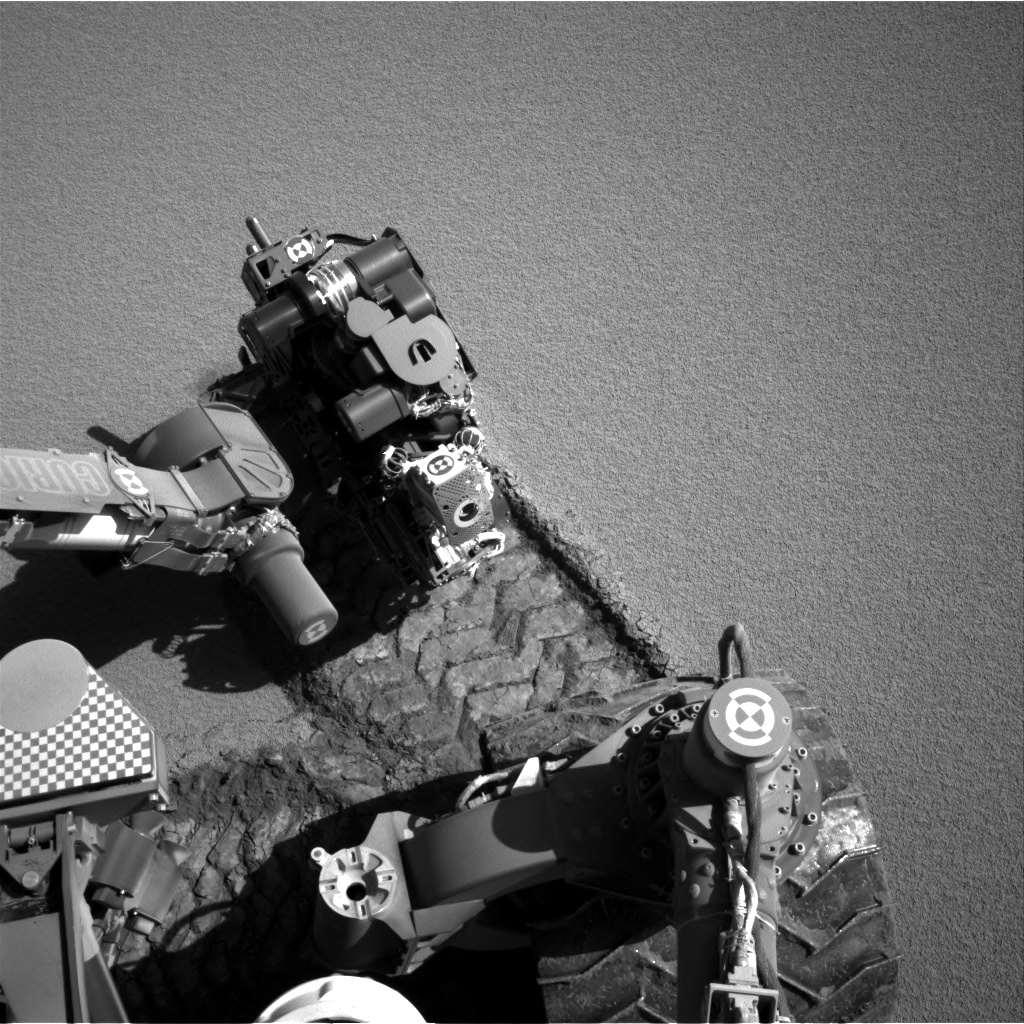 Nasa's Mars rover Curiosity acquired this image using its Right Navigation Camera on Sol 531, at drive 184, site number 26