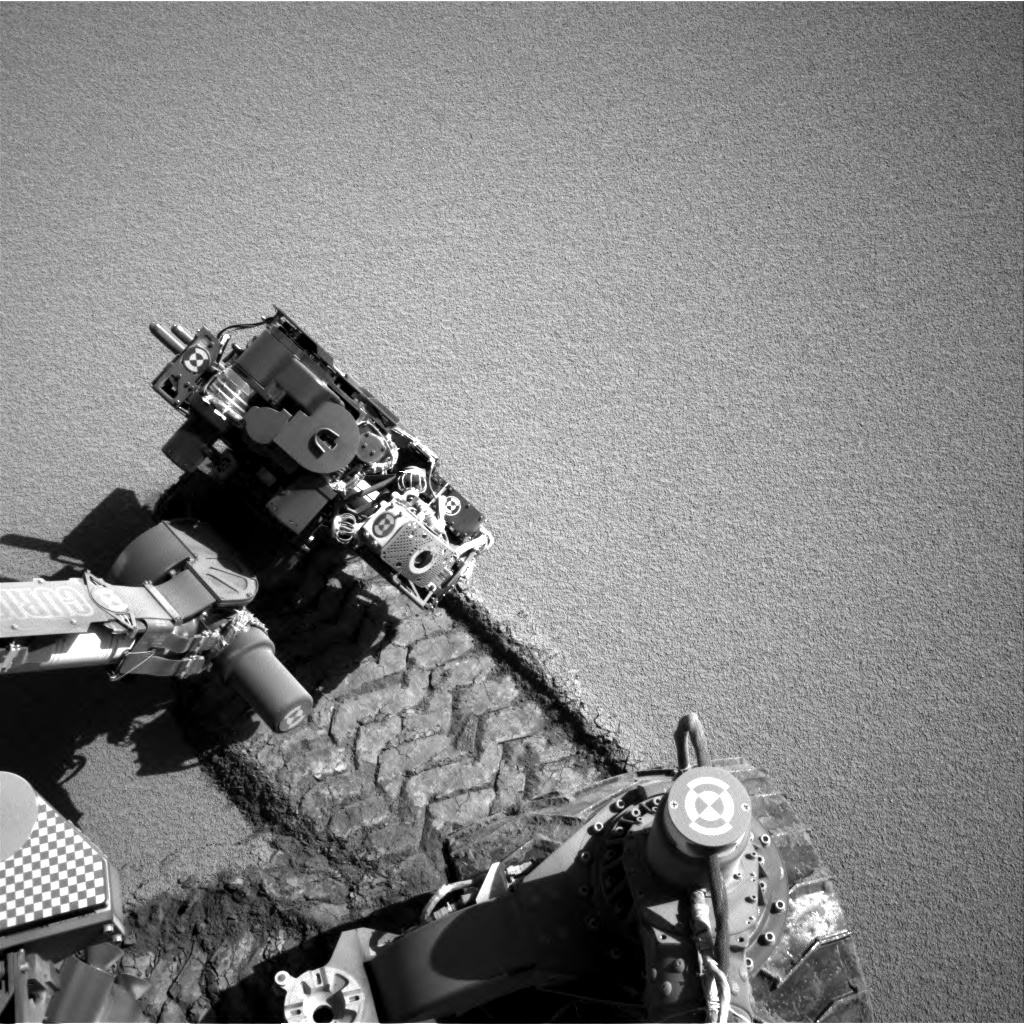 NASA's Mars rover Curiosity acquired this image using its Right Navigation Cameras (Navcams) on Sol 531