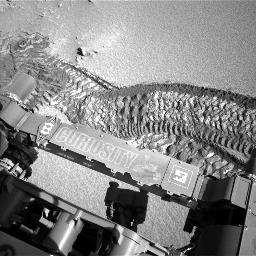 NASA's Mars rover Curiosity acquired this image using its Left Navigation Camera (Navcams) on Sol 532