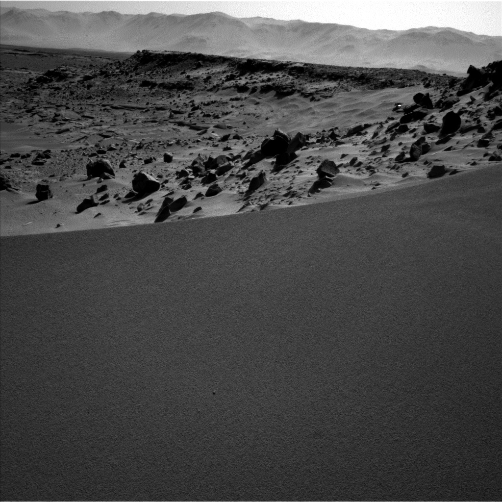Nasa's Mars rover Curiosity acquired this image using its Left Navigation Camera on Sol 532, at drive 208, site number 26