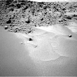 Nasa's Mars rover Curiosity acquired this image using its Right Navigation Camera on Sol 532, at drive 190, site number 26