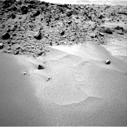 Nasa's Mars rover Curiosity acquired this image using its Right Navigation Camera on Sol 532, at drive 196, site number 26