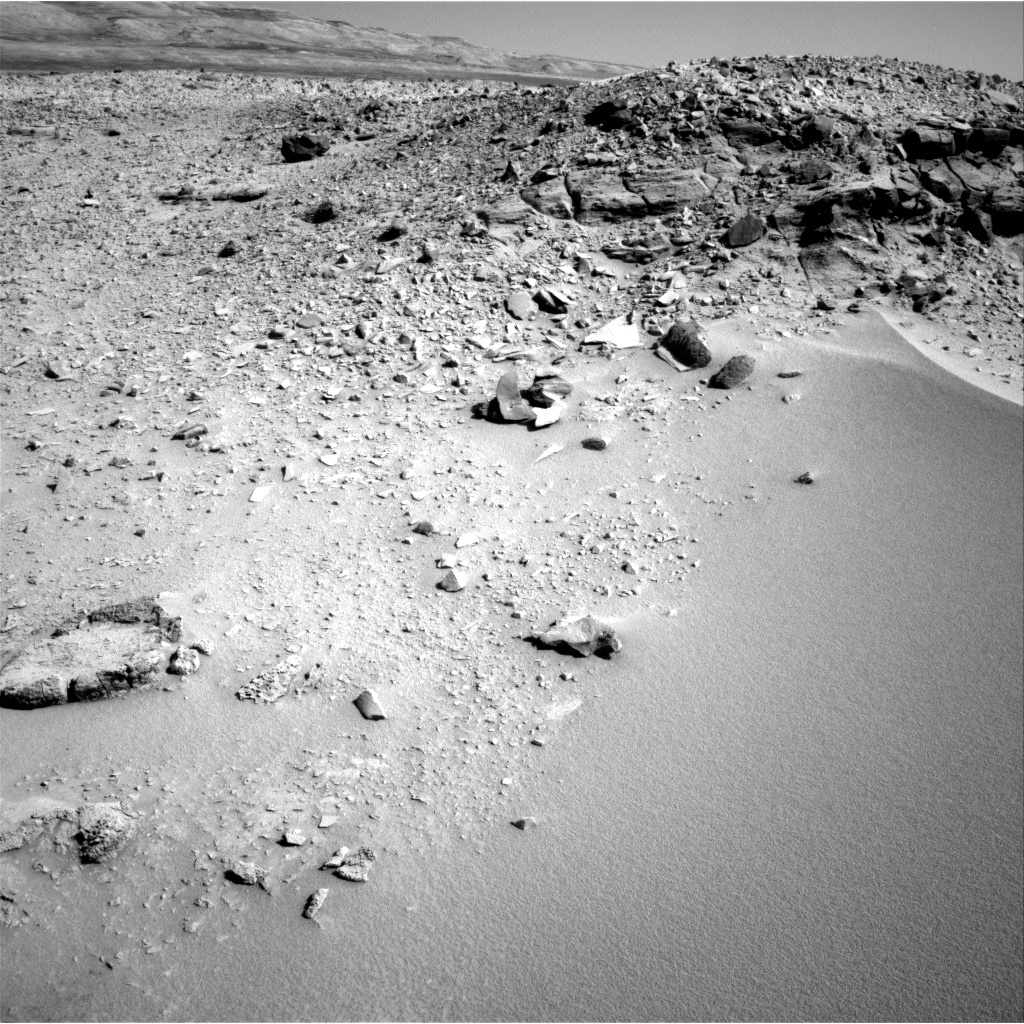 NASA's Mars rover Curiosity acquired this image using its Right Navigation Cameras (Navcams) on Sol 532